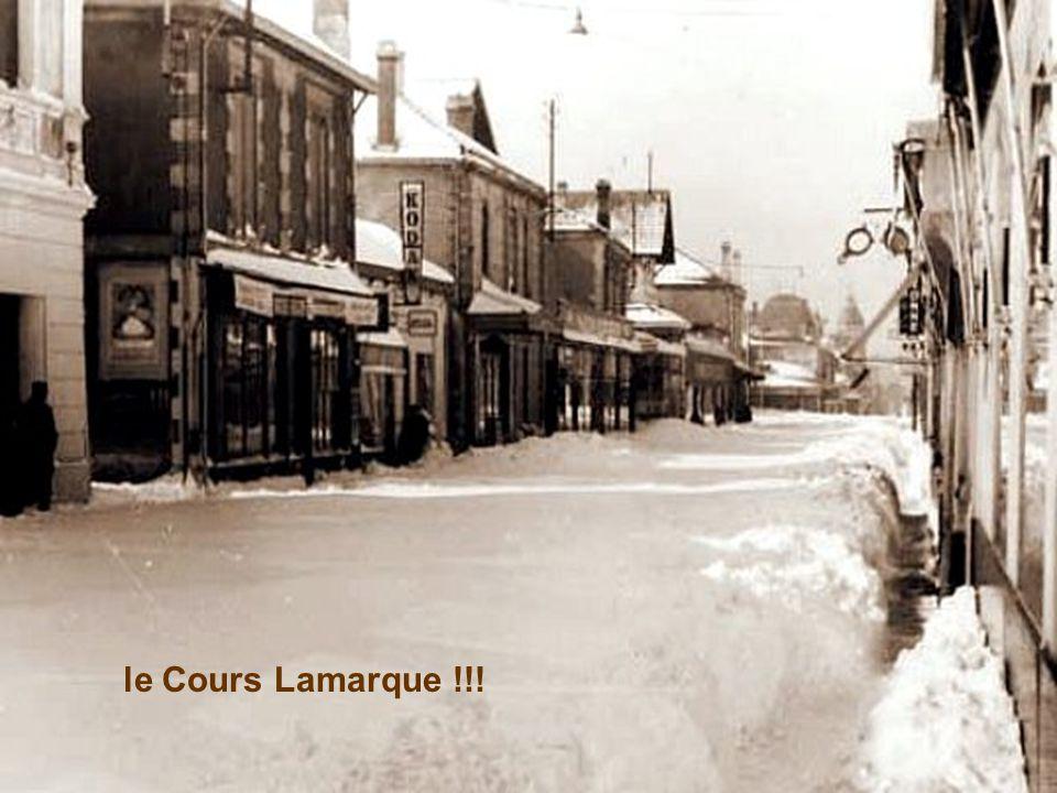 le Cours Lamarque !!!