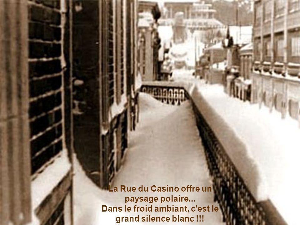La Rue du Casino offre un paysage polaire
