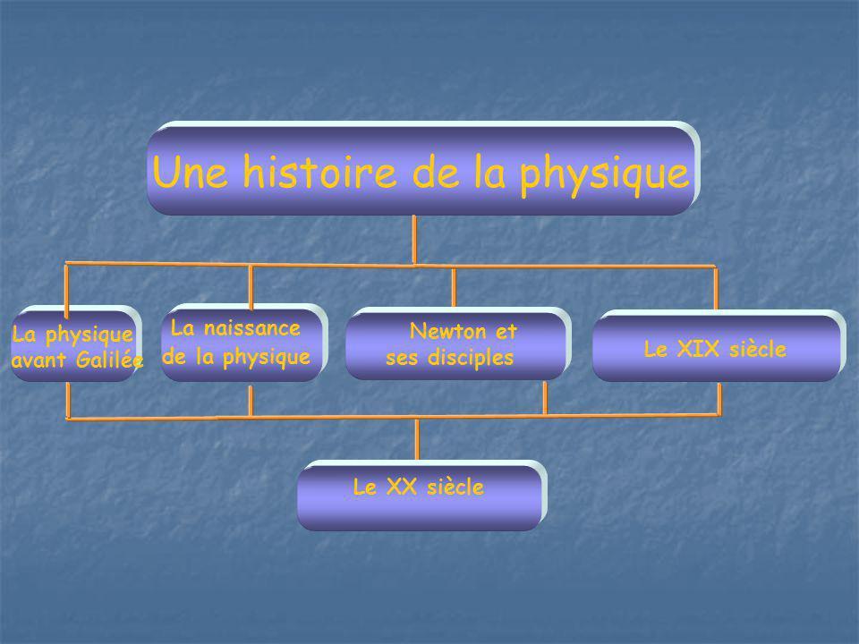 Une histoire de la physique