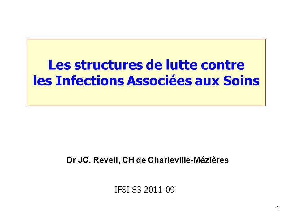 Les structures de lutte contre les Infections Associées aux Soins