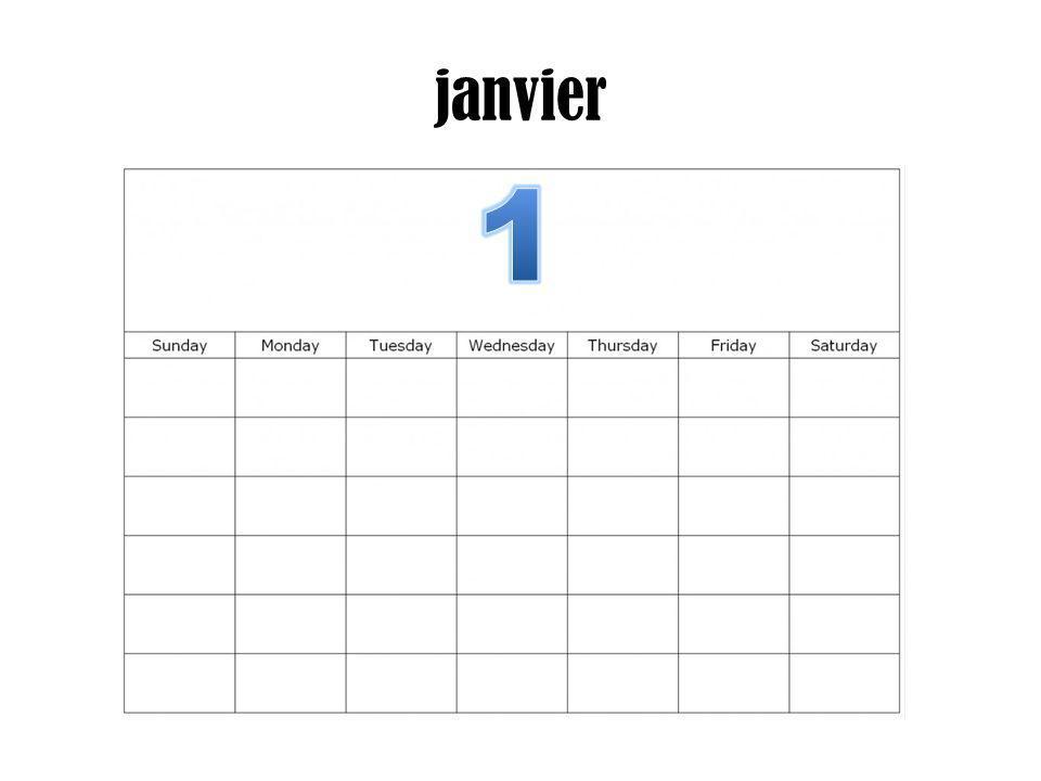 janvier 1