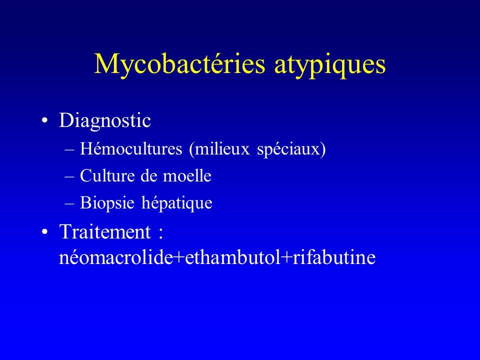Mycobactéries atypiques