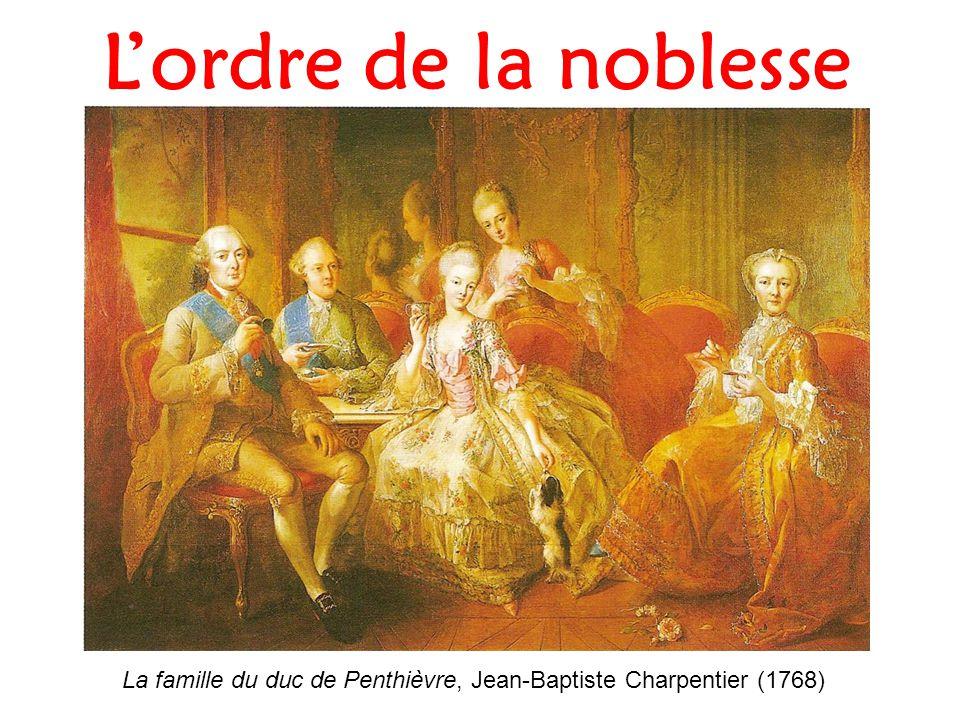 L'ordre de la noblesse La famille du duc de Penthièvre, Jean-Baptiste Charpentier (1768)