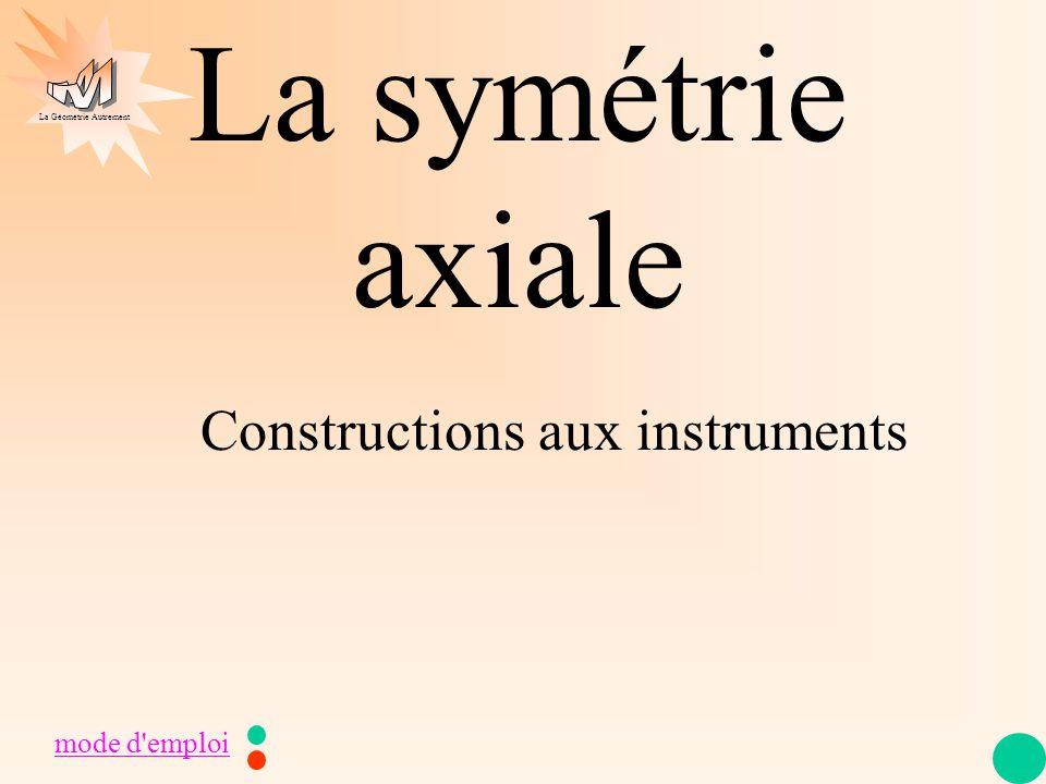 Constructions aux instruments