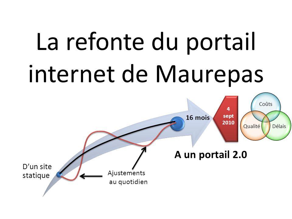 La refonte du portail internet de Maurepas