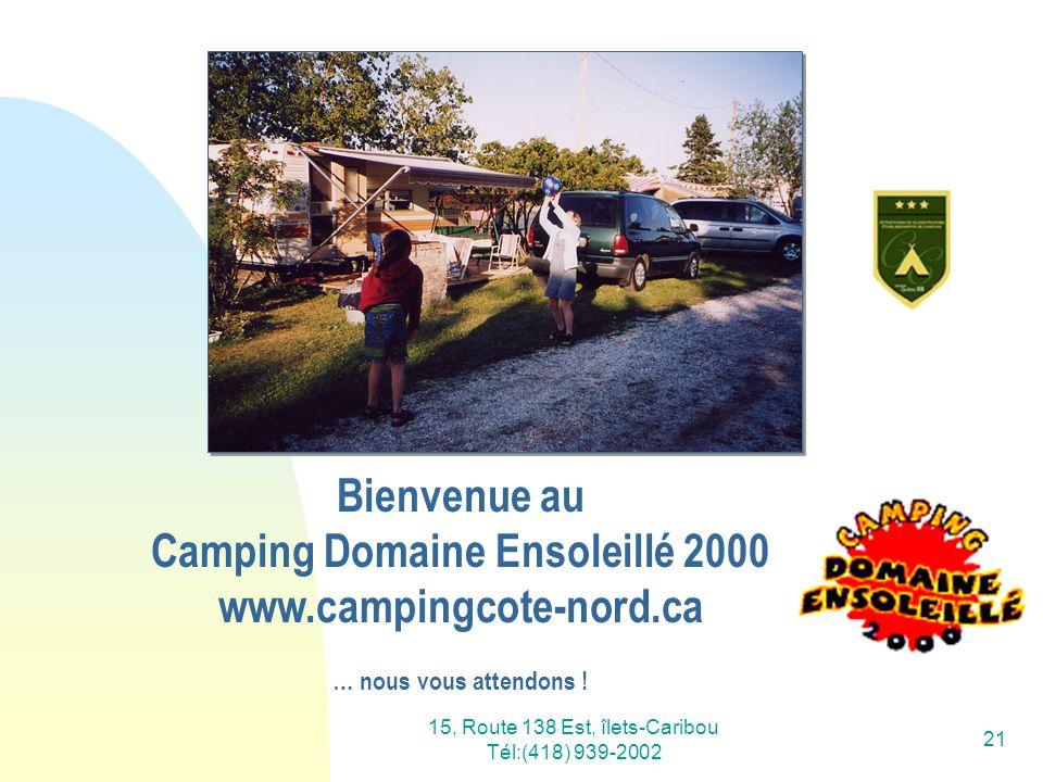 Bienvenue au Camping Domaine Ensoleillé 2000