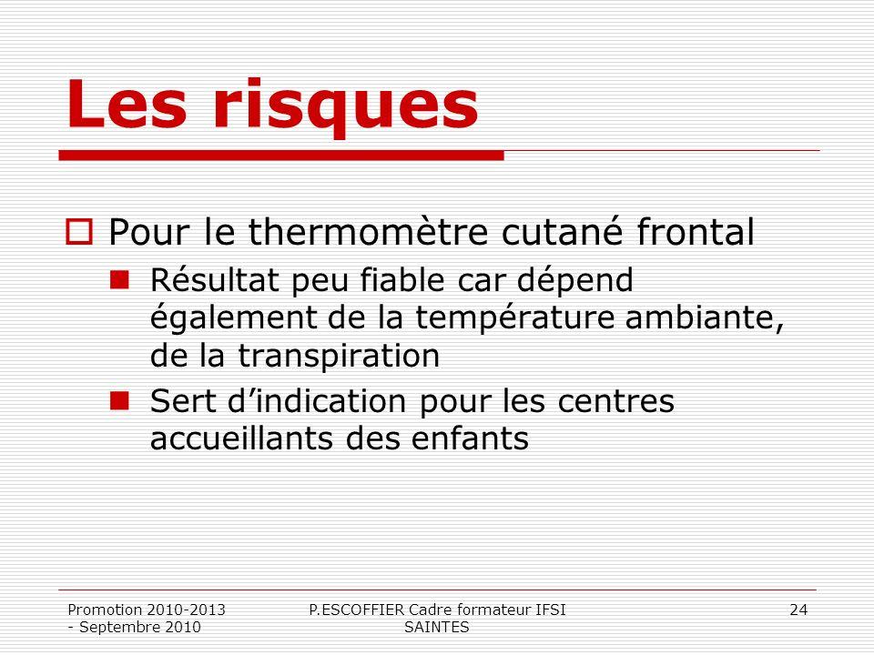 P.ESCOFFIER Cadre formateur IFSI SAINTES