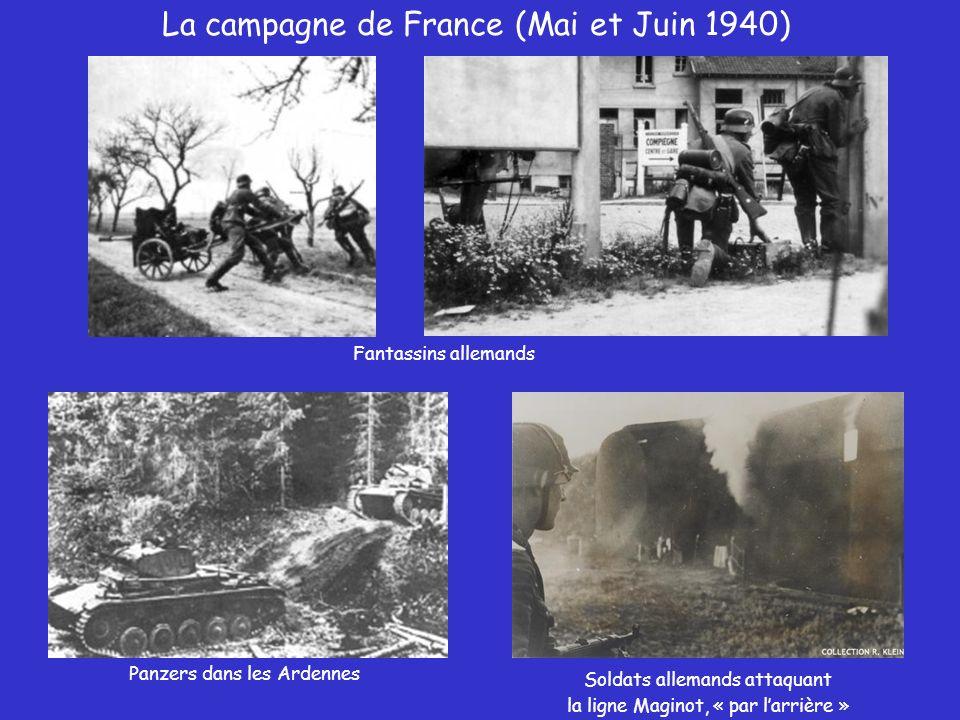 La campagne de France (Mai et Juin 1940)