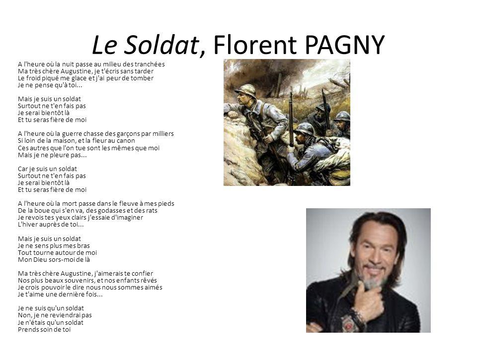 Le Soldat, Florent PAGNY