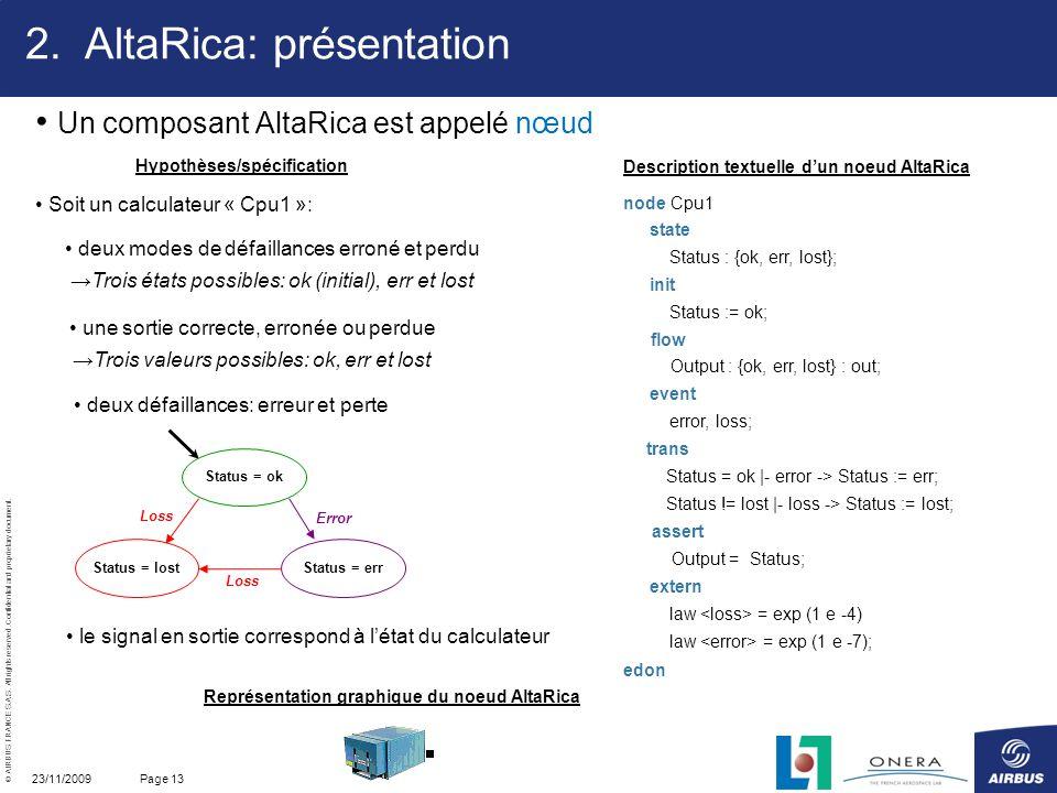AltaRica: présentation