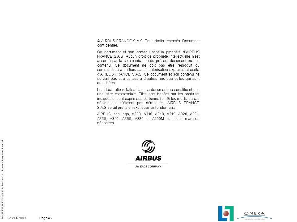 © AIRBUS FRANCE S.A.S. Tous droits réservés. Document confidentiel.
