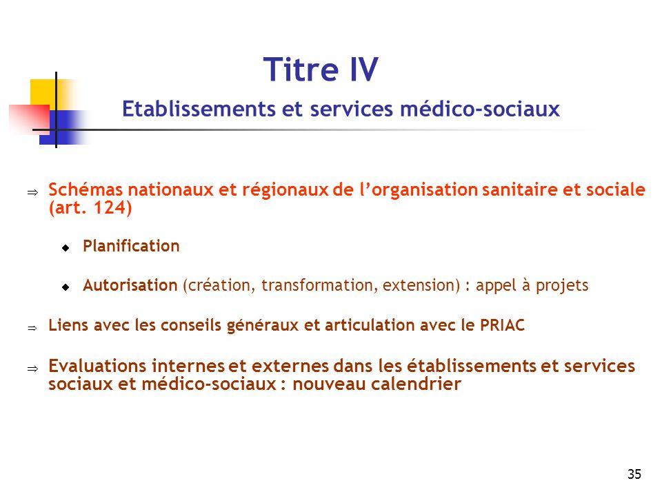 Etablissements et services médico-sociaux