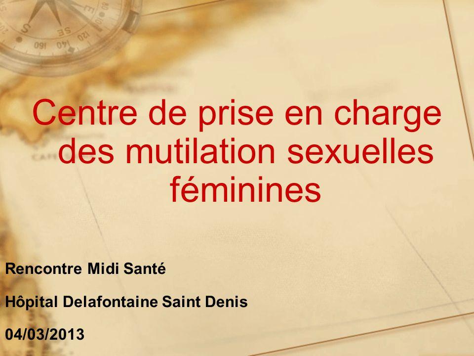Centre de prise en charge des mutilation sexuelles féminines