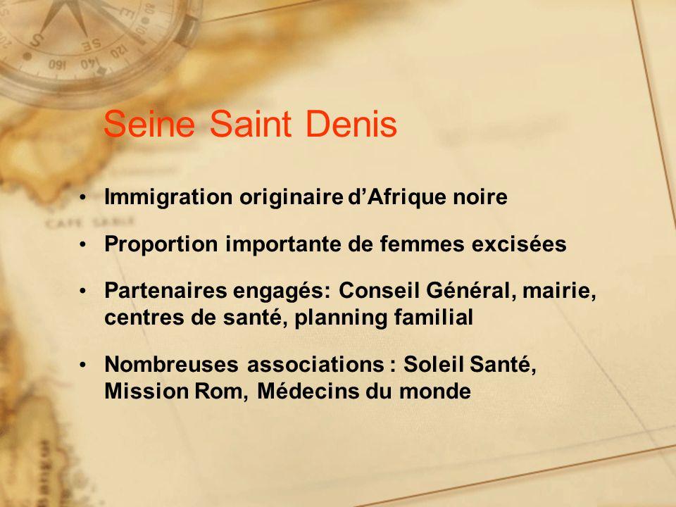 Seine Saint Denis Immigration originaire d'Afrique noire