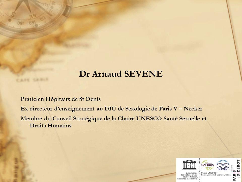 Dr Arnaud SEVENE Praticien Hôpitaux de St Denis