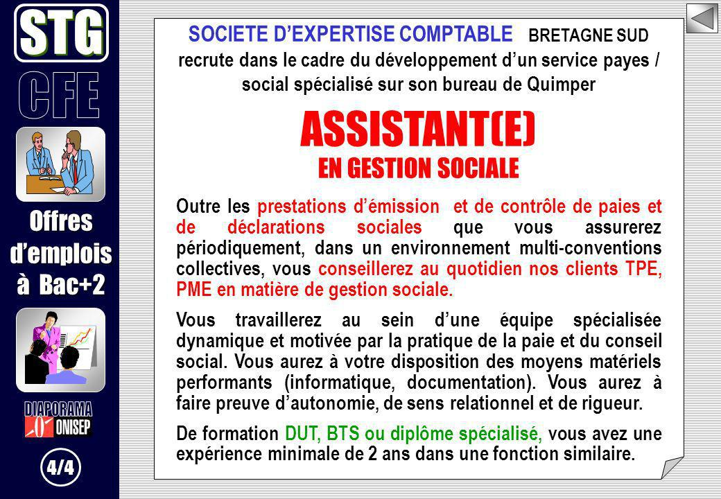 SOCIETE D'EXPERTISE COMPTABLE BRETAGNE SUD