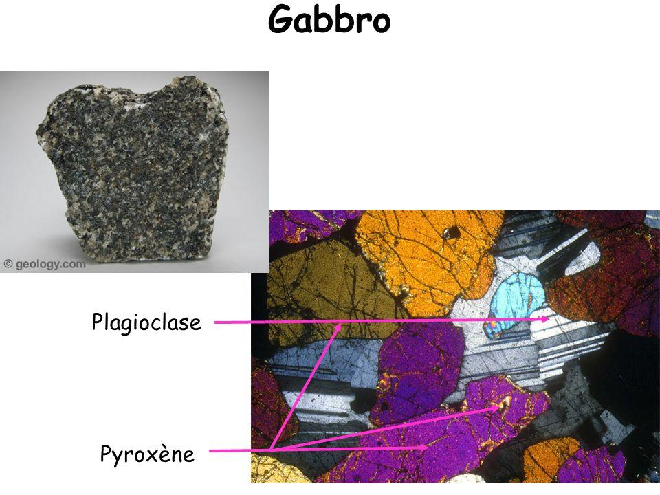 Gabbro Plagioclase Pyroxène