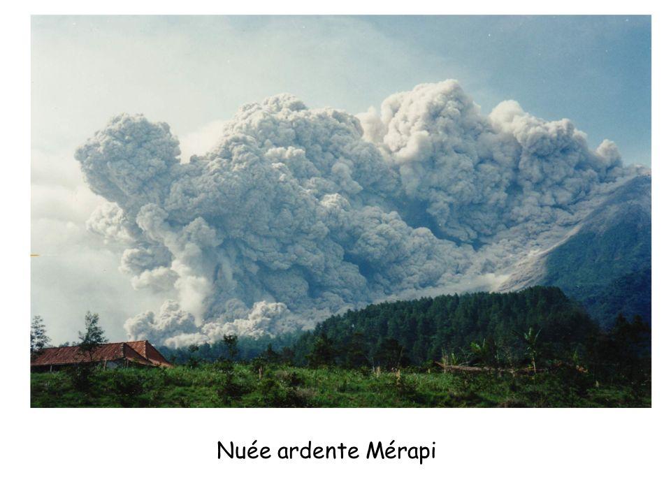 Nuée ardente Mérapi