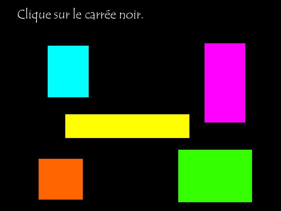 Clique sur le carrée noir.
