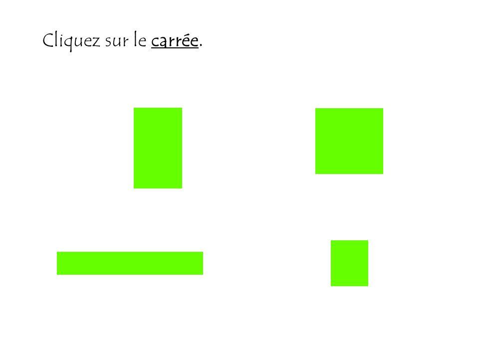 Cliquez sur le carrée.