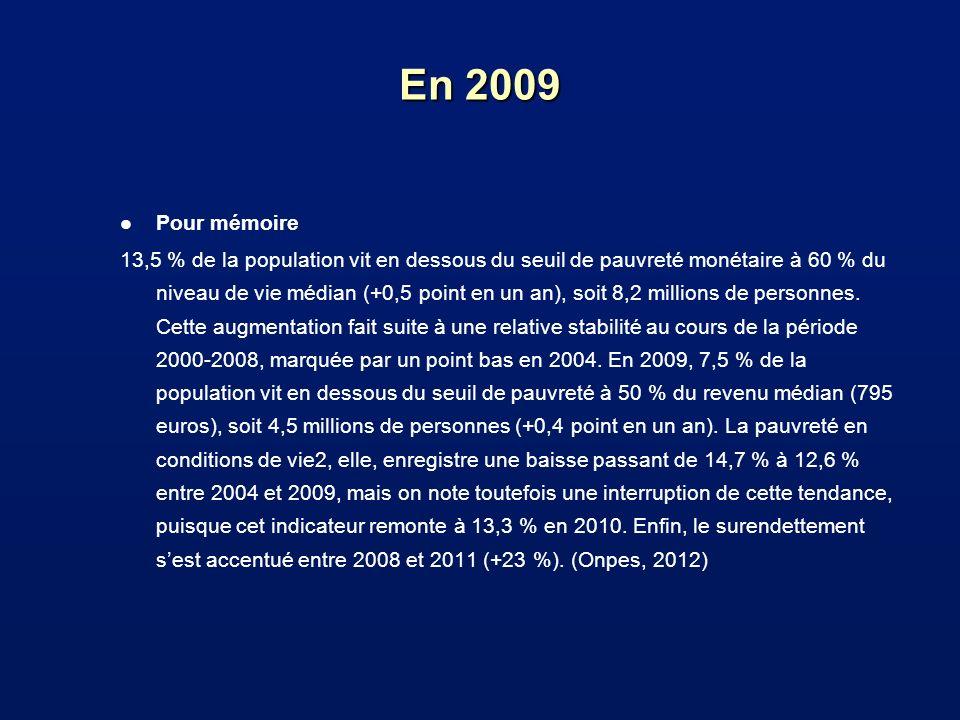 En 2009 Pour mémoire.