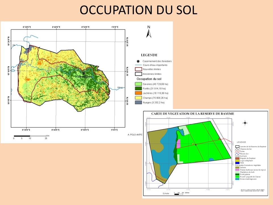OCCUPATION DU SOL