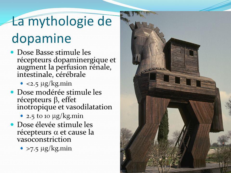 La mythologie de dopamine