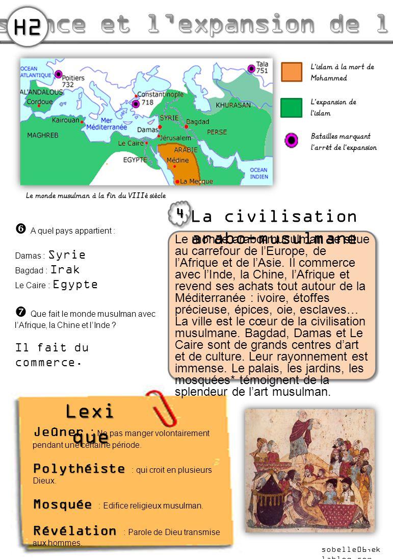 La naissance et l'expansion de l'islam suite