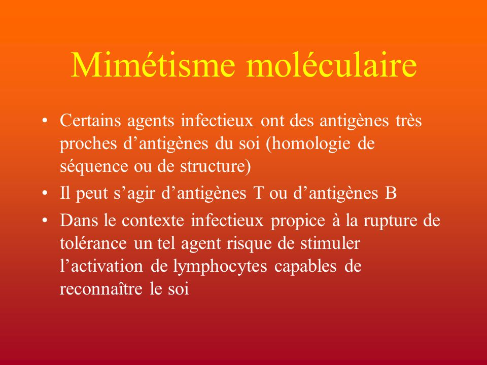 Mimétisme moléculaire