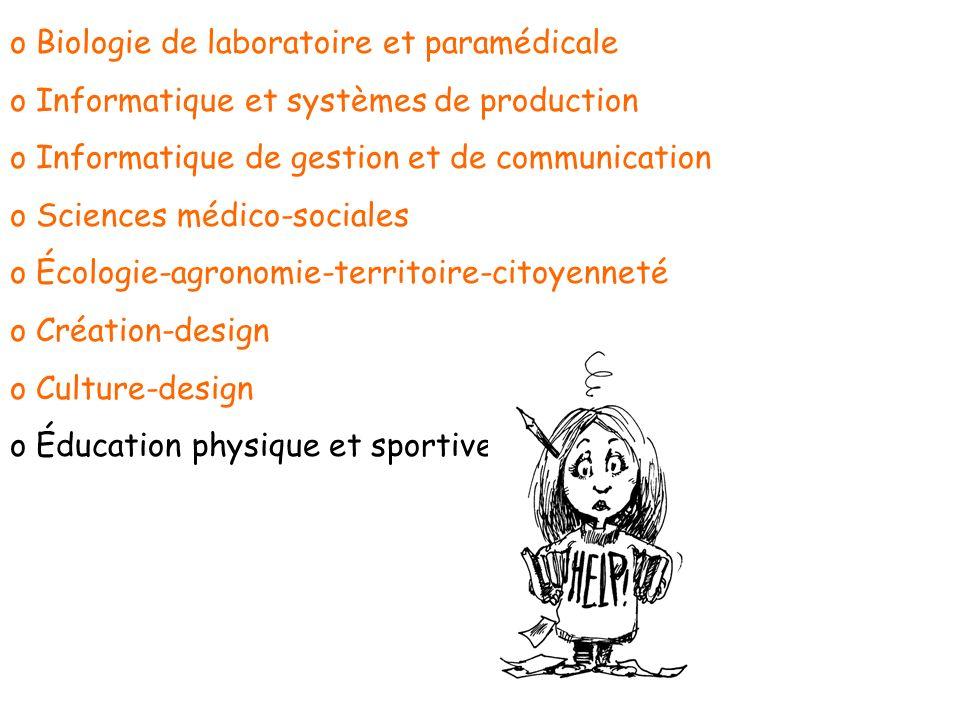 Biologie de laboratoire et paramédicale
