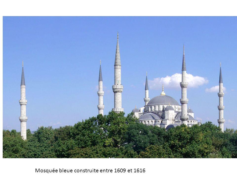 Mosquée bleue construite entre 1609 et 1616