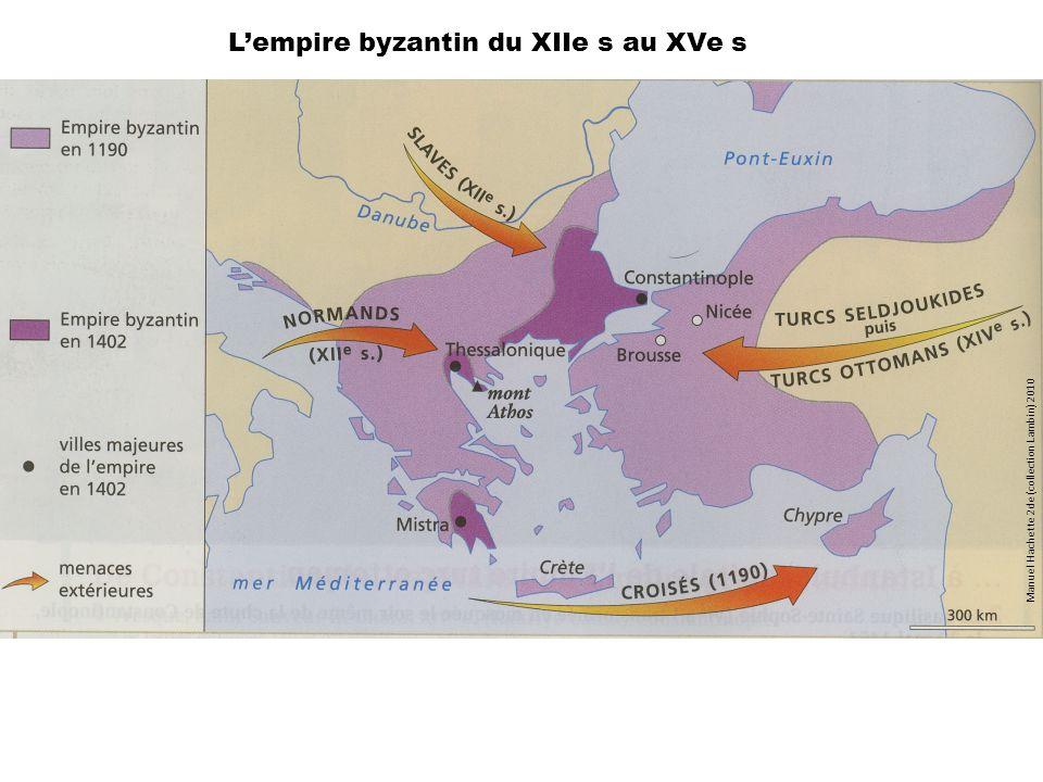L'empire byzantin du XIIe s au XVe s