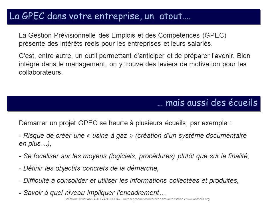 La GPEC dans votre entreprise, un atout….