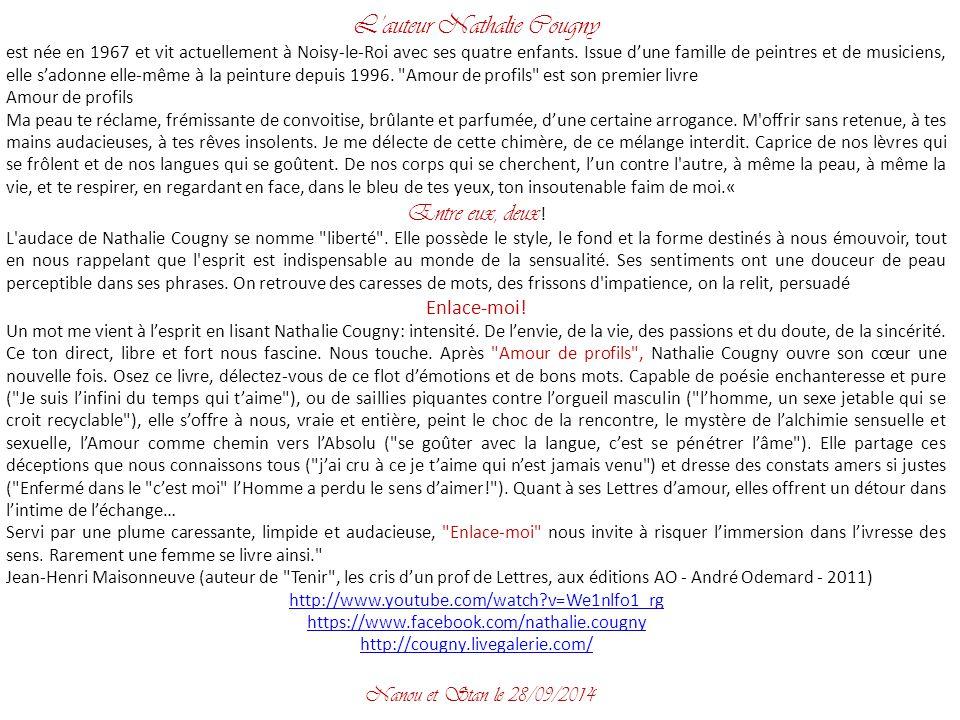 L'auteur Nathalie Cougny