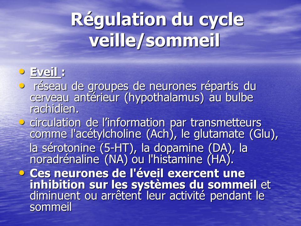 Régulation du cycle veille/sommeil