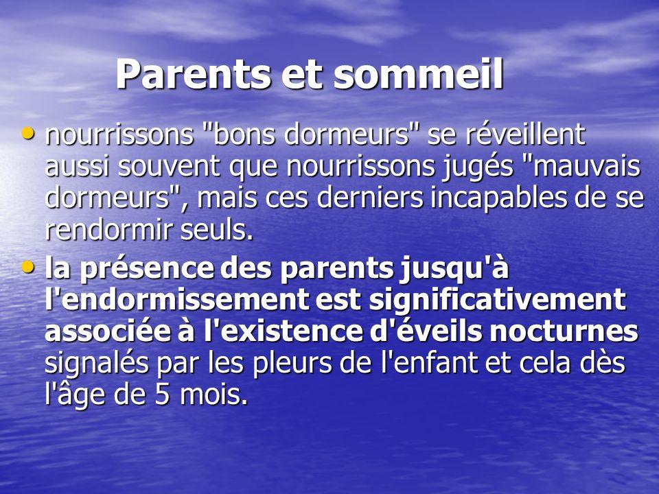 Parents et sommeil