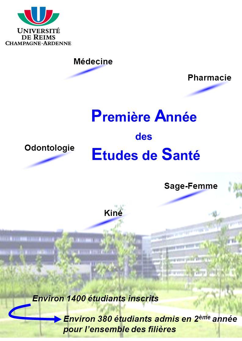Première Année Etudes de Santé des Médecine Pharmacie Odontologie