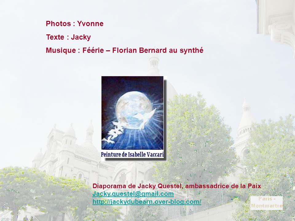 Musique : Féérie – Florian Bernard au synthé