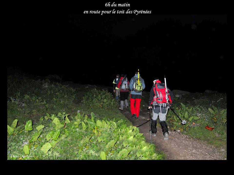 en route pour le toit des Pyrénées