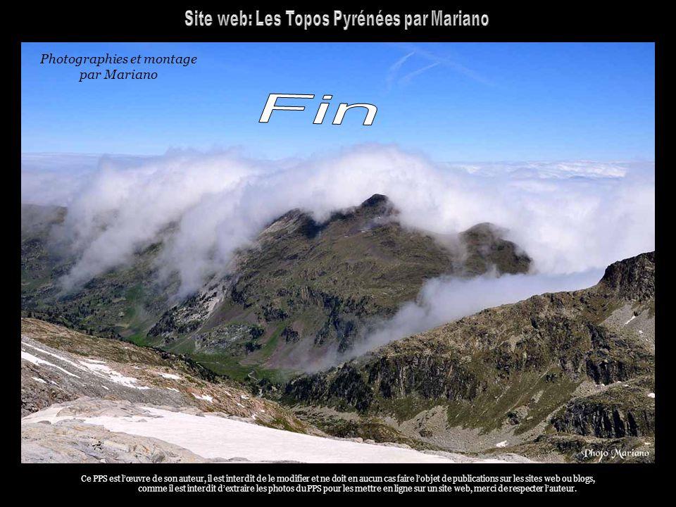 Fin Site web: Les Topos Pyrénées par Mariano Photographies et montage
