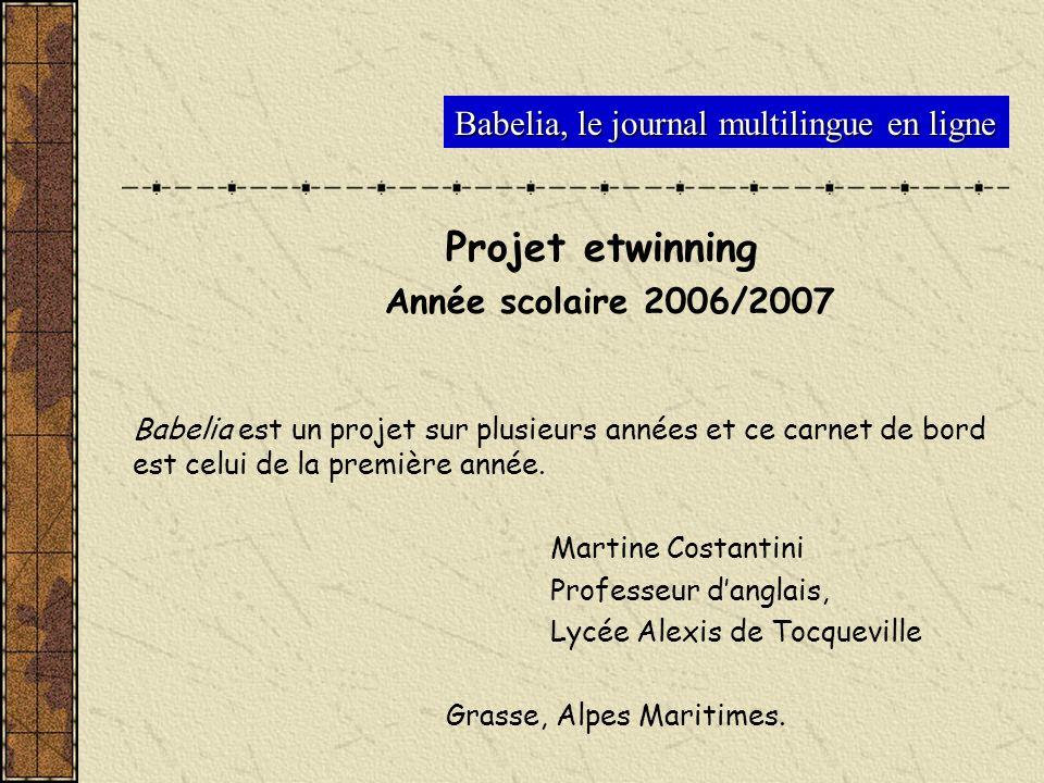 Babelia, le journal multilingue en ligne