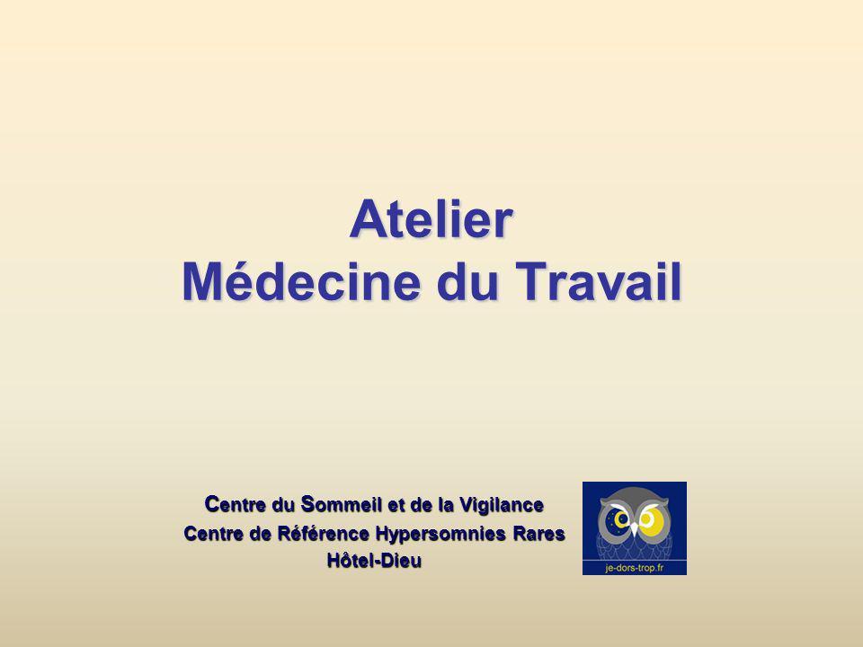 Atelier Médecine du Travail