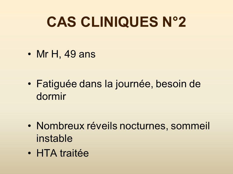 CAS CLINIQUES N°2 Mr H, 49 ans
