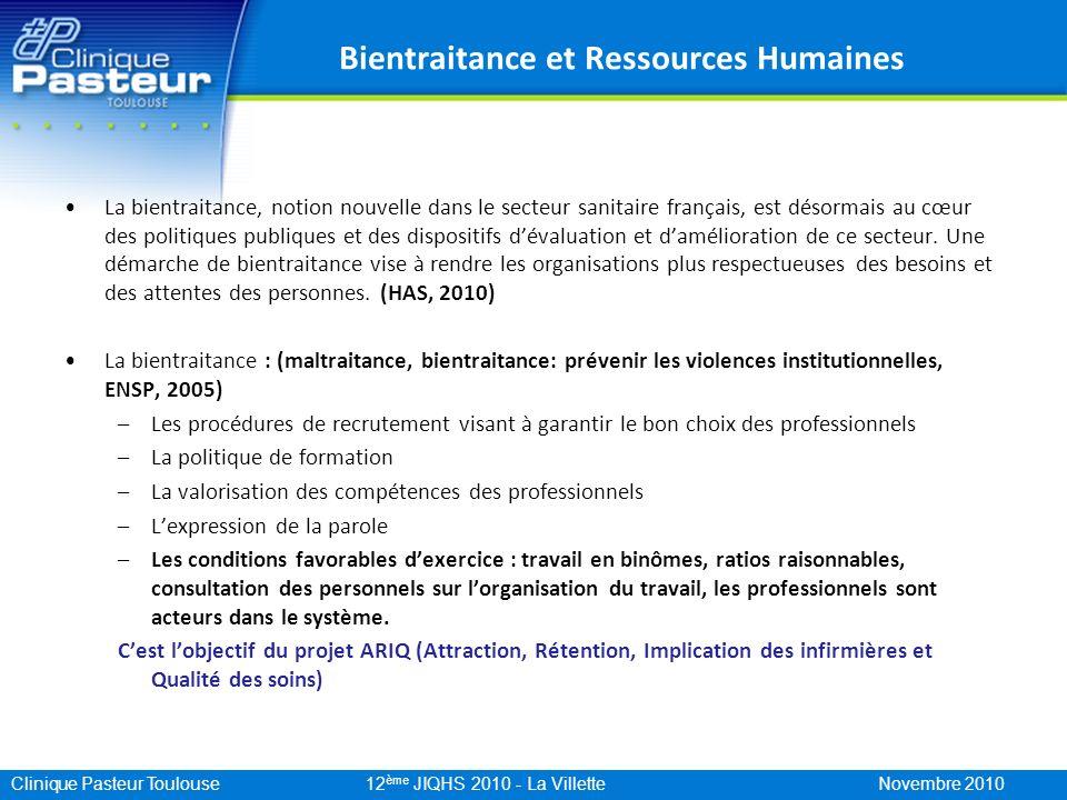 Bientraitance et Ressources Humaines