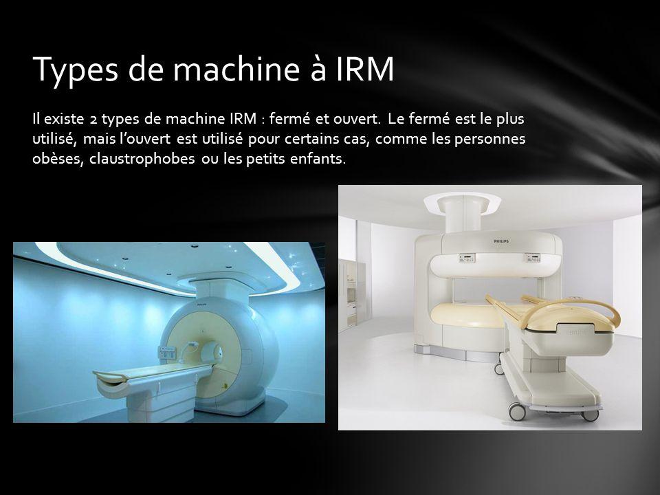 Types de machine à IRM
