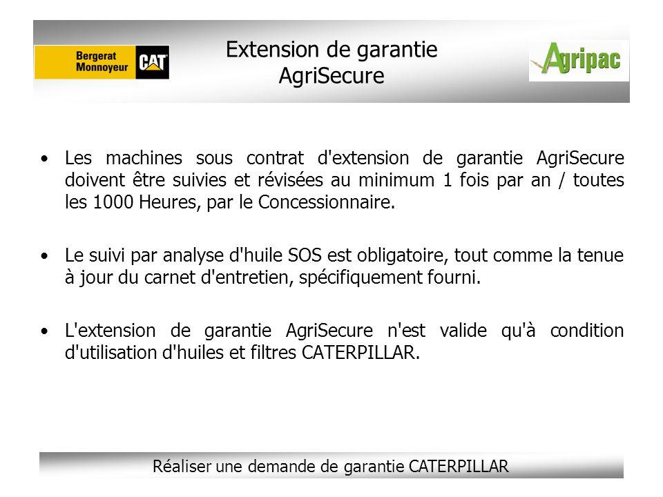 Extension de garantie AgriSecure