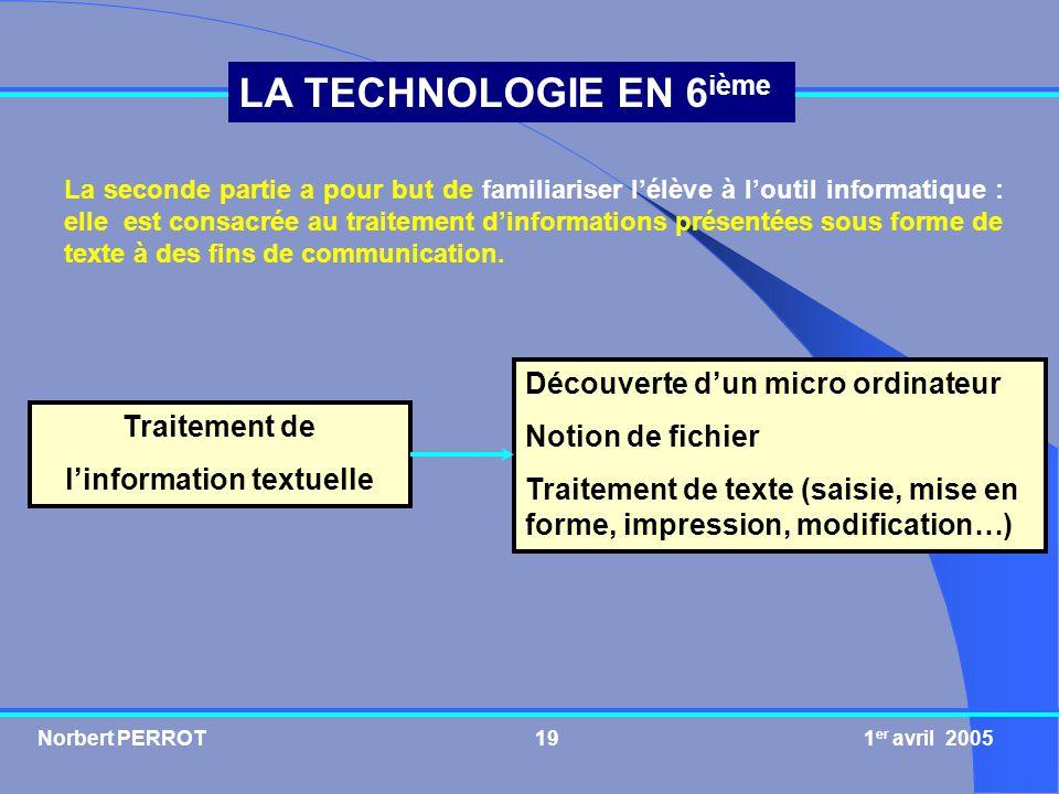 l'information textuelle