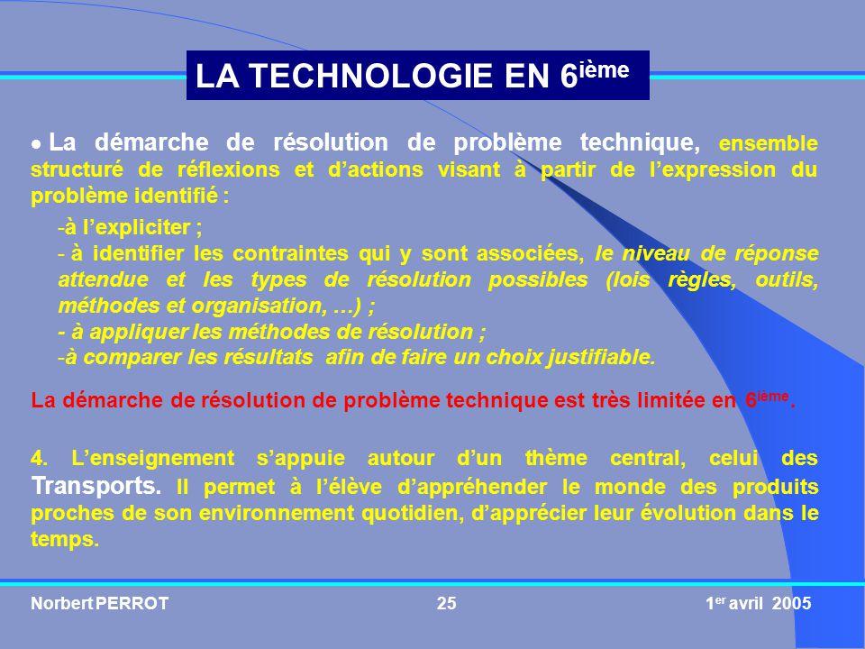 La démarche de résolution de problème technique, ensemble structuré de réflexions et d'actions visant à partir de l'expression du problème identifié :