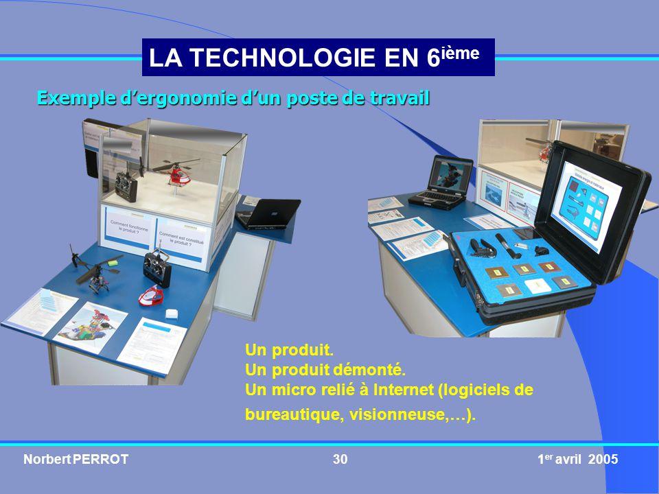 Exemple d'ergonomie d'un poste de travail