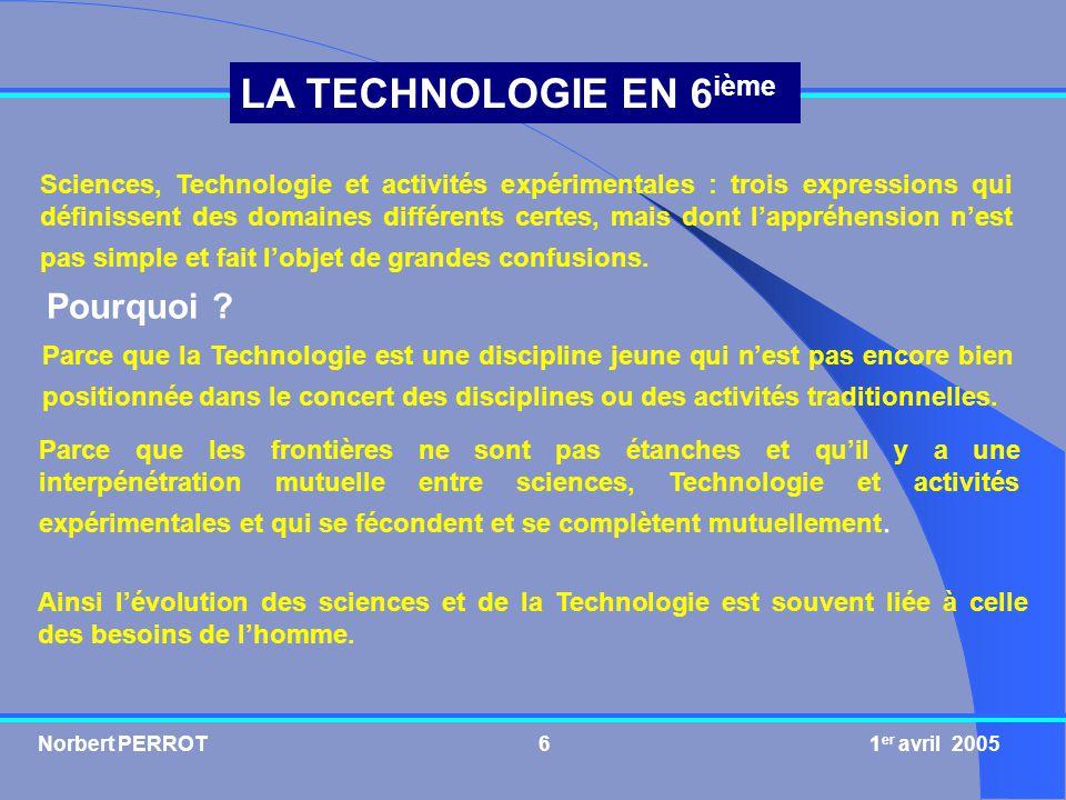 Sciences, Technologie et activités expérimentales : trois expressions qui définissent des domaines différents certes, mais dont l'appréhension n'est pas simple et fait l'objet de grandes confusions.